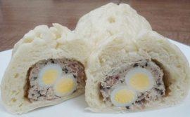 cách làm bánh bao nhân thịt trứng cút