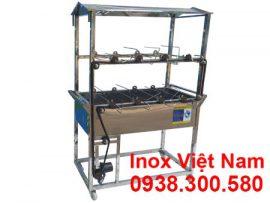 Lò nướng gà vịt inox tự quay LN-10