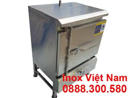 tủ nấu cơm công nghiệp 20kg bằng gas