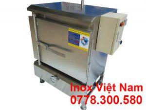 tủ nấu cơm công nghiệp 20kg, 4 khay nấu
