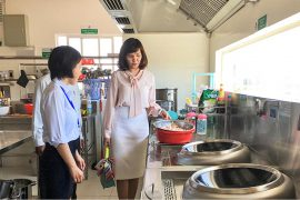 quy định về bếp ăn trường mầm non