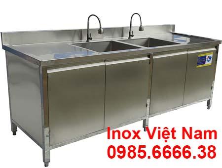 Báo giá tủ bồn rửa bát đĩa inox 304 TUI-16