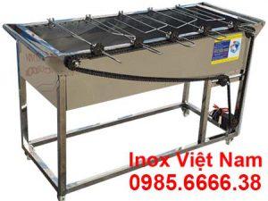 Bếp nướng than hoa inox LN-11