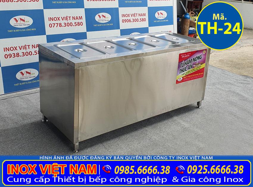 Giá tủ hâm nóng thức ăn TH-24